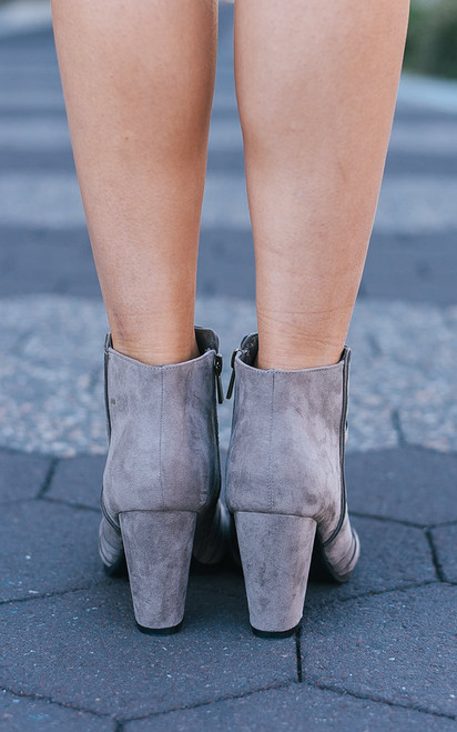 Brooklyn Bound Booties - Taupe