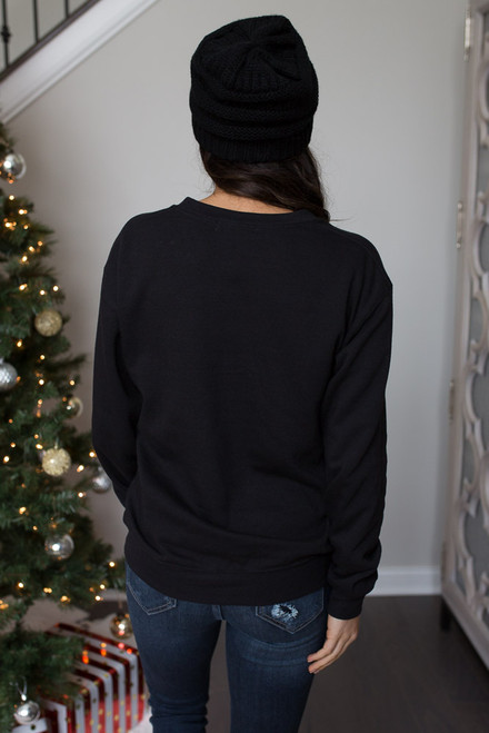 Single Bells Sweatshirt - Black
