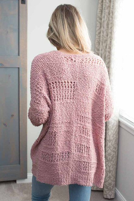 Cozy Wubby Cardigan - Pink