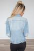 Distressed Denim Jacket - Light Wash - FINAL SALE