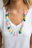 Bahama Mama Tassel Necklace - Multi - FINAL SALE