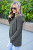 Home Sweet Home Sweater - Olive