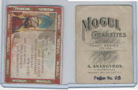 T112 Mogul Cigarettes, Toast Series, 1909, Heres To Our Sweathearts