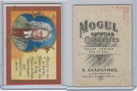 T112 Mogul Cigarettes, Toast Series, 1909, Heres To You In Water