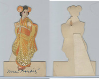 T14 (Similar To) Place Cards, 1930, Japanese Women Lot of Three