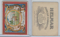 T107 Helmar, State Seals & National Coats of Arms, 1910, Arizonia