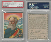T118 Hassan, World's Greatest Explorers, 1910, Adolphus Greely, PSA 4 VGEX