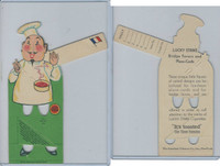 T14 Lucky Strike, Bridge Favors, 1930, French Chef