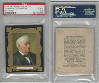 T25 Between The Acts, Actors, 1911, Denman Thompson, PSA 5.5 EX+