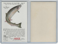 F213-3 Coca Cola, Nature Study, Water Life, 1920's, #6 Salmon