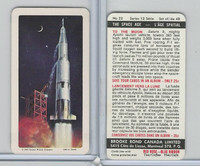 FC34-13 Brooke Bond, Space Age, 1969, #22 To The Moon