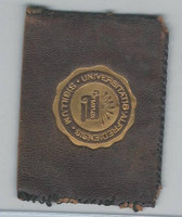L20 American Tobacco Leather, College Seals, 1912, Alfred (Brown)
