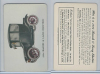 UO5 Signal Oil, Antique Autos, 1953, #23 Rauch, Lang Electric 1914