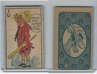 W Strip Card, Hee Haw Maud, 1920's, 1U Hello Ma