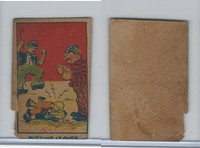 W Card, Strip Card, Universal Comic, 1920's, Putting It Over
