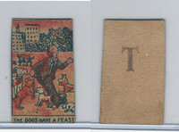 W Card, Strip Card, Universal Comic, 1920's, The Dogs Have A Feast