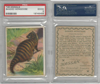 T29 Hassan Cigarettes, Animals, 1911, Banded Mongoose, PSA 2 Good
