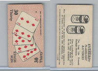 C27 Imperial Tobacco, Poker Hands, 1930, #30