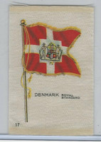 SC6 Imperial Tobacco, National Flags, 1910, #17 Denmark Royal Standard