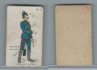 E7 Caramel, Soldier Cards, 1910, #2 English Captain