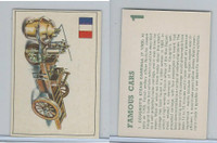 D0-0 Deposito, Famous Cars, 1971, #1 Cougnot's Steam Carriage