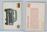 D0-0 Deposito, Famous Cars, 1971, #96 BMW 2002