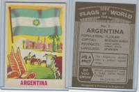 F0-0 England, Flags of the World, 1950's, #3 Argentina