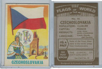F0-0 England, Flags of the World, 1950's, #16 Czechoslovakia