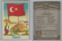 F0-0 England, Flags of the World, 1950's, #45 Turkey