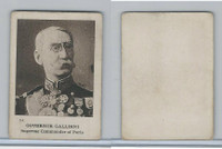 C98 Imperial Tobacco, World War I, 1916, #14 Governor Gallieni, Paris