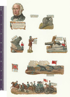 Victorian Diecuts, 1890's, World History, William Srmstrong, Cannon (P2)