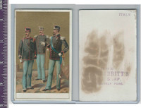 Victorian Card, 1890's, Babbitts Soap, Soldiers (4)