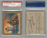 T57 Turkish Trophies, Fable Series, 1910, Jupiter And Camel, PSA 2 Good