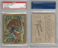 T57 Turkish Trophies, Fable Series, 1910, The Bear and Fox, PSA 3 VG