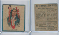 V254 Canadian CG, Papoose Gum Indians, 1934, #18 White Shield, Cheyenne