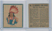 V254 Canadian CG, Papoose Gum Indians, 1934, #22 Chief Gall, Sioux