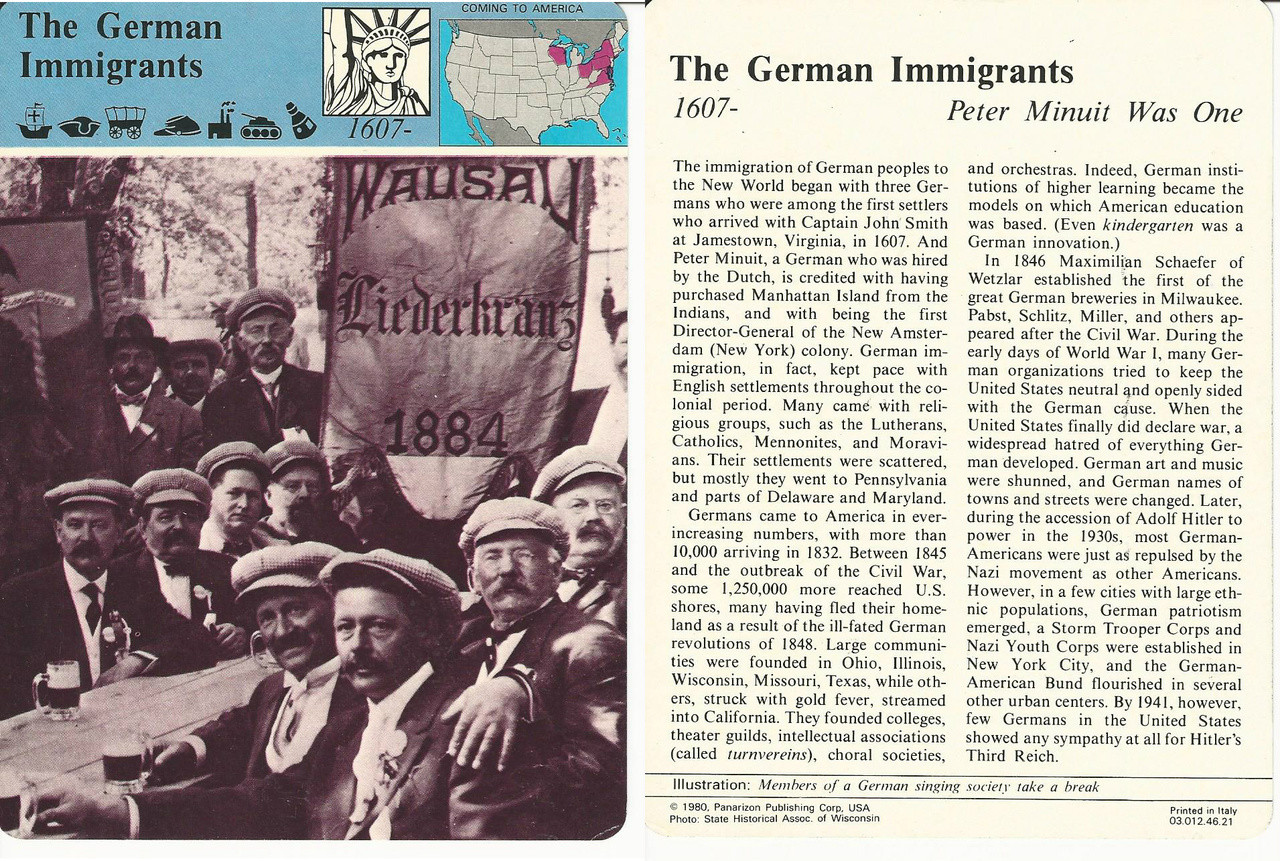A German Immigrant Girl Shares Her Adventure