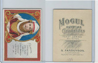 T112 Mogul Cigarettes, Toast Series, 1909, For We Are Surely
