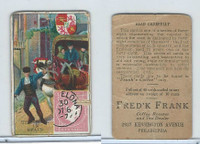 K138 Fred'K Frank Coffee, Mail Carriers & Stamps, 1910, Spain