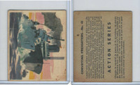V350 World Wide Gum, Action Series, 1940's, #45 Convoying Freighters
