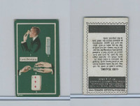 C66 Imperial Tobacco, Tricks & Puzzles, 1910, #41 Card Reading