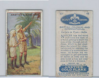 A66-15 Anstie Cigarettes, Scout Series, 1923, #46 Lecture On Trees India