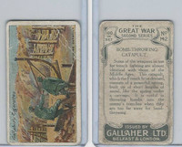 G12-19 Gallaher, The Great War, 1915, #142 Bomb Throwing Catapult