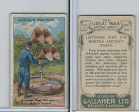 G12-19 Gallaher, The Great War, 1915, #159 Listening Post For Aircraft