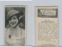 H46-66 Hill, Who's Who In British Films, 1927, #47 Estelle Brody