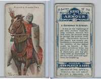 P72-15 Player, Arms & Armour, 1909, #13 Horseman In Armour