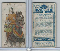 P72-15 Player, Arms & Armour, 1909, #18 An Armed Horseman With Mace