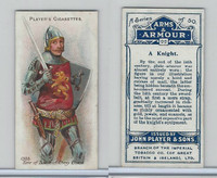 P72-15 Player, Arms & Armour, 1909, #22 A Knight