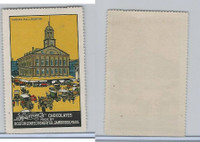 E279 Sparrow's Chocolate, Boston Scenes, 1910, Faneuil Hall