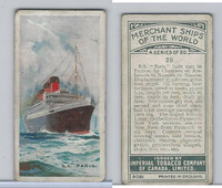 C20 Imperial Tobacco, Merchant Ships, 1924, #20 SS Paris